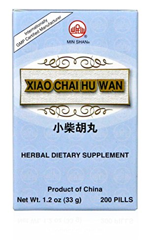 Minor Bupleurum Teapills, Xiao Chai Hu Wan, 200 ct, Min Shan (Chai Wan Tang Xiao Hu)