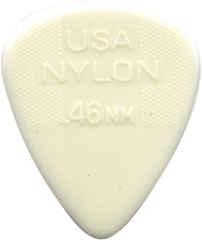 Dunlop Guitar Picks  72 Pack  Nylon  .38mm  ultra light