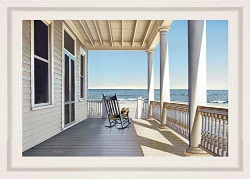 buyartforless FRAMED Carolina Porch by Daniel Pollera 36x24