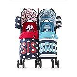 Cosatto Supa Dupa Twin Stroller - Bro & Sis