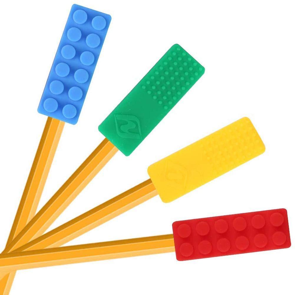 Motor Oral Juego de 5 Paquetes de Juguetes sensoriales de masticaci/ón Coloridos Palillo masticable no t/óxico para beb/és con dentici/ón ni/ños autistas ansiedad