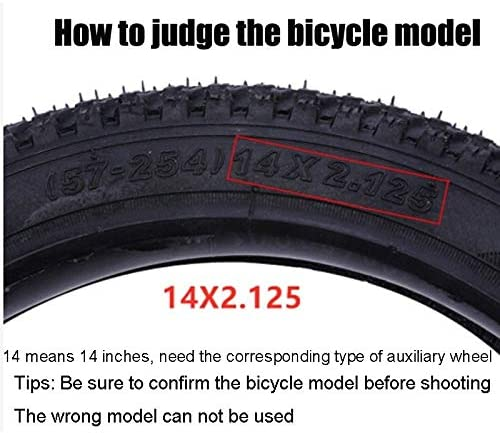 Nobenx Training Wheels Childrens Bicycle Auxiliary Wheel Universal Adult Variable Speed Child Bicycle Stroller 12-14-16-20 Inch Accessories