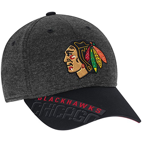 Reebok Flex Cap - Wrigleyville Sports Chicago Blackhawks 2016 Playoffs Flex Fit Cap, Small/Medium