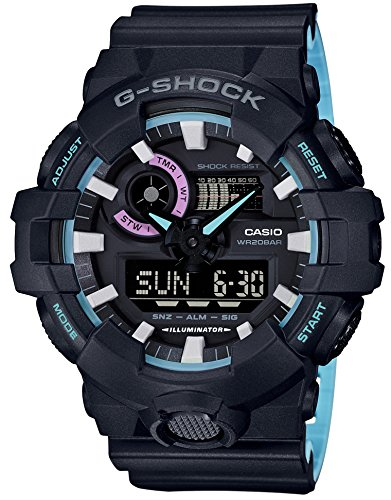 CASIO G-SHOCK Neon accent Color GA-700PC-1AJF MENS JAPAN IMPORT