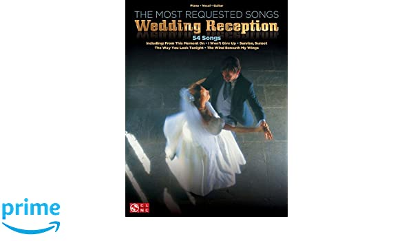 Amazon The Most Requested Wedding Reception Songs