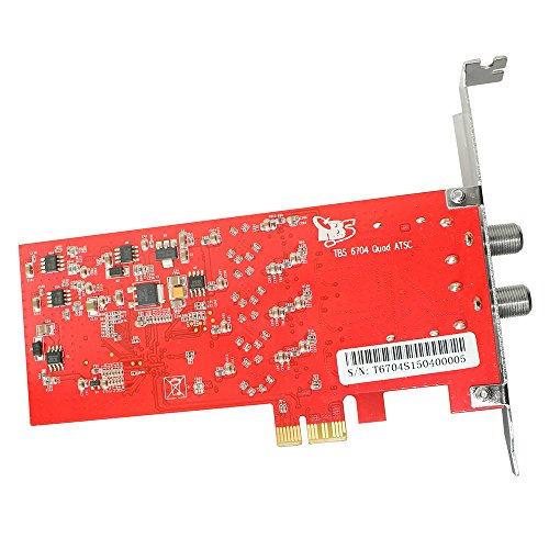 TBS6704 ATSC/ Clear QAM Quad Tuner PCIe Card for IPTV Server by TBS (Image #4)