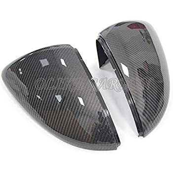 amazoncom replacement carbon fiber rear side mirror