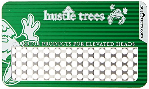 - Hustle Trees Men's Metal Debit Card Grinder, Kelly Green, One Size