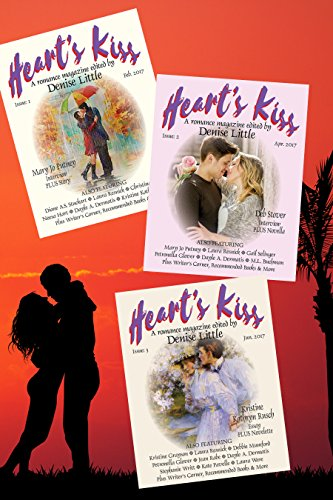 Ticker's Kiss: A Romance Magazine – Omnibus Edition (Issues 1,2,3): Featuring Mary Jo Putney, Deb Stover, M.L. Buchman, Laura Resnick, Kristine Grayson and multitudinous more (Heart's Kiss Onminbus)