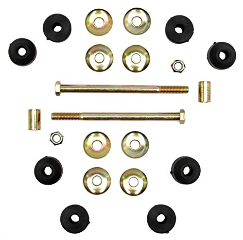 ACDelco 46G0114A Advantage Front Suspension Stabilizer Bar Link Kit with Hardware