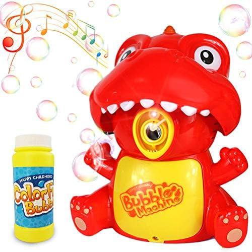 Ourine 電動式シャボン玉 バブルマシーン 玉製造機 泡製造機 舞台効果 撮影道具 雰囲気作り 子供のおもちゃ 外遊び プール アウトドア パーティー 誕生日/結婚式でも適用 贈り物