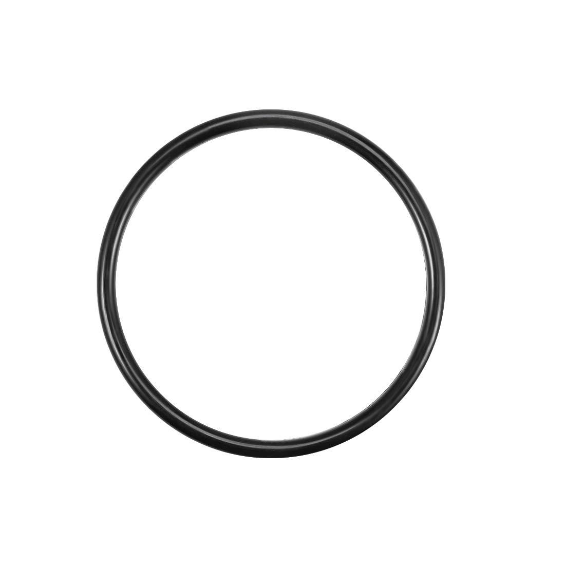 Sourcingmap junta t/órica de goma de nitrilo 21 mm-393,8 mm de di/ámetro interior 5 unidades