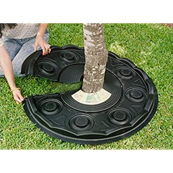 Amazon Com Perm A Mulch 24 Quot Brown Mulch Mat Tree Ring
