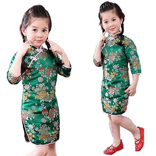 green new years dress - 6