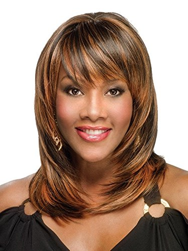 Vivica Fox Pure Stretch Cap Synthetic Hair Wig - Rumer V-FS1B/33 ()