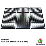 Direct store Parts DC113 Porcelain Cast Iron Cooking grid Replacement Charbroil, Cuisinart, Kenmore, Tuscany Gas Grill