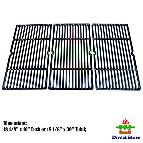 Direct store Parts DC113 Porcelain Cast Iron Cooking grid Replacement Charbroil, Cuisinart, Kenmore, Tuscany Gas Grill by Direct store