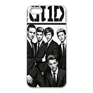 Cool Painting One Direction Unique Design Cover Case for Iphone 5,5S,custom case cover case-332716