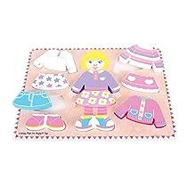Bigjigs Toys BB057 Dressing Girl Puzzle
