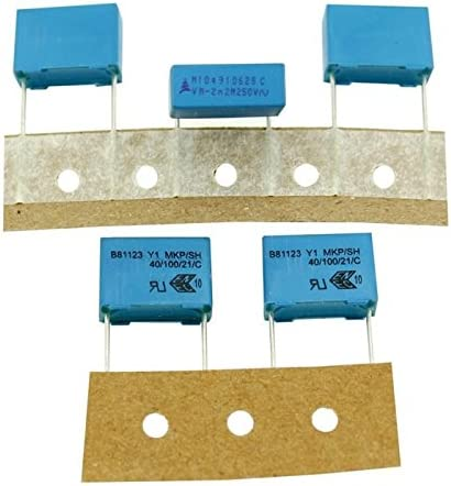 20x MKP Condensador De L/ámina Radial 0,0022/µF 250V AC Epcos B81123C1222M189 2,2nF