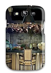 New Diy Design Old World Kitchen With Stone Copper And Brass Materials For Galaxy S3 Cases Comfortable For Lovers And Friends For Christmas Gifts by lolosakes