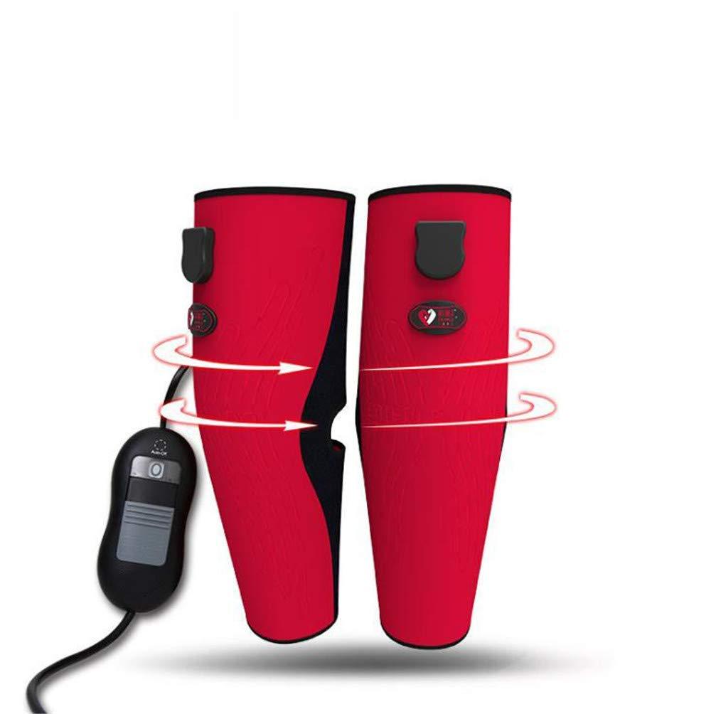 暖かい循環、3モード温度制御遠赤外線循環ホットコンプレッション、膝&脚の痛みを和らげる治療装置付き加熱脚マッサージ B07SKC7JL9