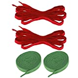 SM SunniMix 2 Pairs 6ft Roller Skates Shoelace Strings for Hockey Ice Skates Boots Shoes DIY Laces Outdoor Sports Small Tools