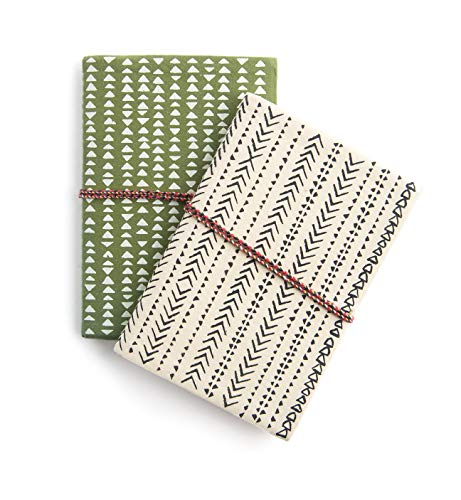 Printfresh Softcover Fabric Notebooks, Small (4