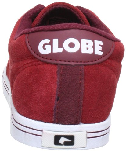 Globe Lighthouse-Slim GBLIGHTHS - Zapatillas de cuero unisex Rojo (brick red/white 19834)
