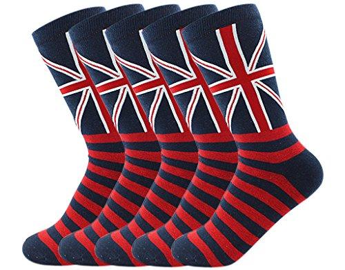 union jack socks - 7