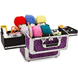 Imperial Purple Mombasa Knitting Storage Case by Roo Beauty