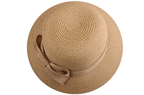 [Straw Hat For Women Straw Summer Hats Sun Protection Hat Ladies Hats Khaki2] (Toddler Gardener Costume)