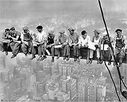 Lunch Atop A Skyscraper Photograph Taken In 1932 By Charles C