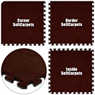 Best Floor Pad SoftCarpets Burgundy Total