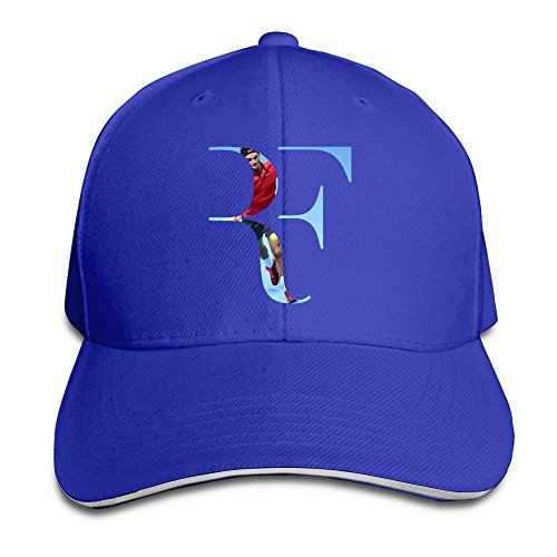 Roger de gorro ajustable real gorras fish6hh talla Unisex SUNNY Federer Azul única béisbol wxYHOYq