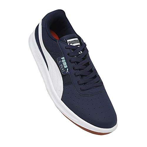 Puma Men s G. Vilas 2 Core IDP Peacoat White Sneakers  Buy Online at Low  Prices in India - Amazon.in cbf153b5a