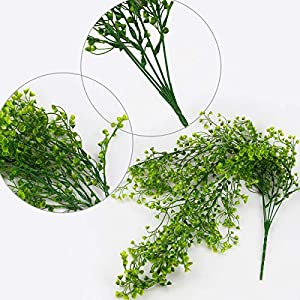 Dreampark Artificial Greenery Garland,Fake Ivy Vines Foliage Plants with Leaves Hanging for Wedding Home Garden 3