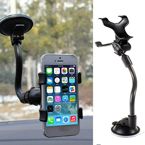 [MAZIMARK--Universal 360°Rotating Car Windshield Mount Holder Stand Bracket for CELL Phone?] (Winter Soldier Costume Ideas)