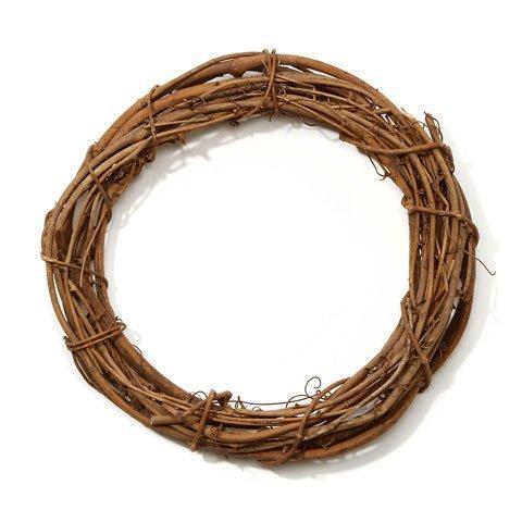 Wreaths Darice (Darice Bulk Buy DIY Crafts Grapevine Wreath Natural 12 inches (12-Pack) GPV12)