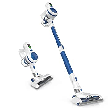 ORFELD 4 in 1 Upright Cordless Vacuum For Tile Floors