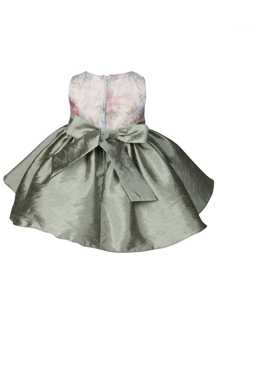 Dress for baby girl - christening - wedding - party - bridesmaid - flower girl - pale green - sleeveless dress