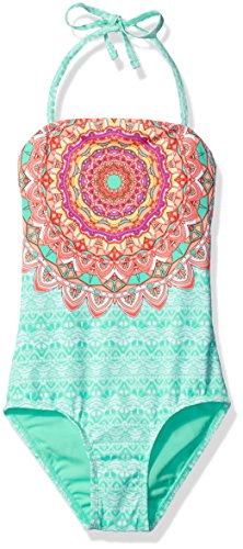 Gossip Girl Big Girls' La Bayadere One Piece Swimsuit, Mint, 10