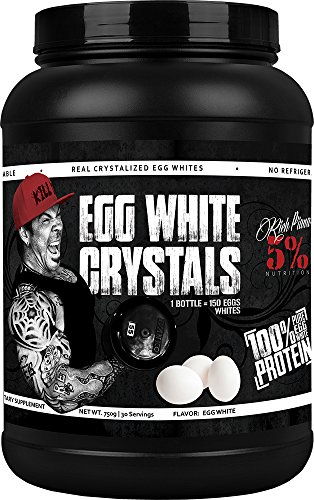 Rich Piana 5% Nutrition Egg White Crystals by 5% Nutrition