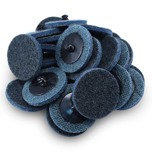 "2"" Black Hawk Blue Surface Conditioning Quick Change Discs Fine Prep Pad - 25 Pack 51xdMrRHX0L"