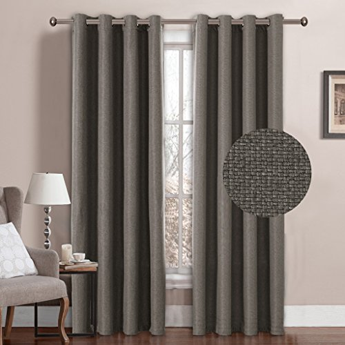 H Versailtex Window Treatment Grommet Linen Like Primitive