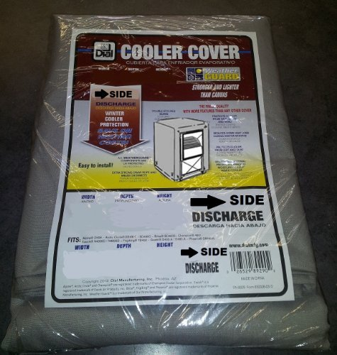 Swamp Cooler Cover Sidedraft 42x43x28  Polyester - Dial #879