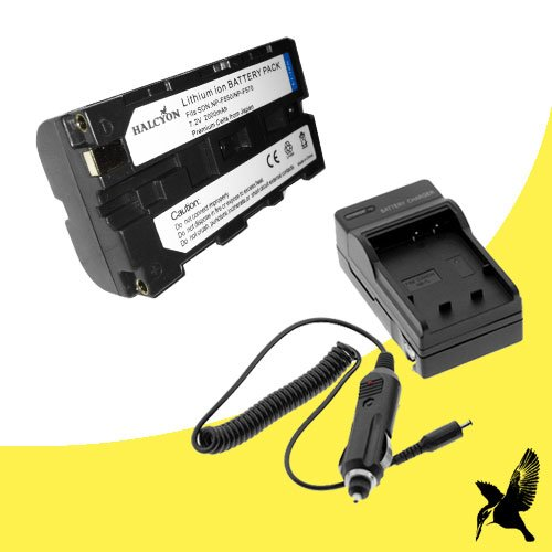 Halcyon 2000 mAH Lithium Ion Replacement Battery and Charger Kit