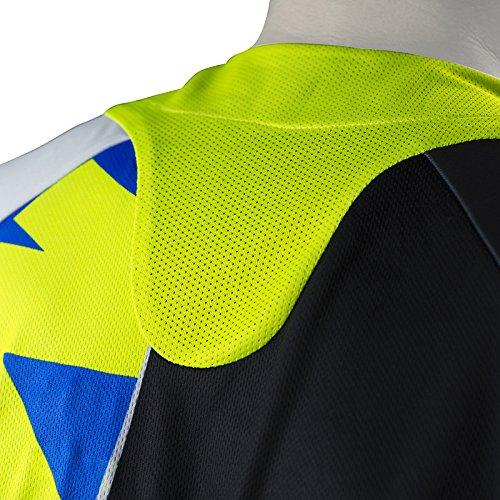 Mots mt2108la Trial Step 4/maglietta taglia L blu