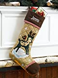 Christmas Stocking Cabin Series Reindeer