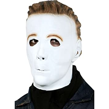 Paper Magic Mens Michael Myers Promotional Mask, White, One Size (máscara /careta